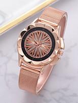 Недорогие -Жен. Наручные часы Кварцевый Розовое золото Повседневные часы Аналоговый Мода Элегантный стиль - Красный Синий Розовый