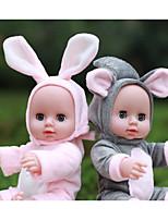 Недорогие -KIDDING Куклы реборн Кукла для девочек Мальчики Девочки 12 дюймовый Полный силикон для тела Силикон Винил - как живой Ручная Pабота Очаровательный Дети / подростки Детские Универсальные Игрушки