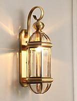 Недорогие -Творчество Простой / Ретро Настенные светильники Спальня / В помещении Металл настенный светильник 220-240Вольт 3 W