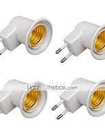 Недорогие -Brelong E27 винт с патроном лампы держатель европейского стандарта 4 шт