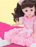 Недорогие -Кукла для девочек Модная кукла Говорящая игрушка Девочки 18 дюймовый Smart как живой Дети / подростки Детские Универсальные Игрушки Подарок