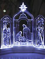 Недорогие -1шт LED Night Light Белый Творчество / Креатив 5 V