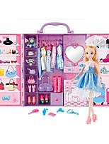 Недорогие -Кукла для девочек Модная кукла Девочки 16 дюймовый Силикон - Smart как живой Дети / подростки Детские Универсальные Игрушки Подарок