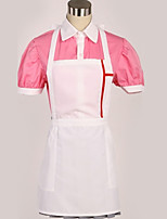 abordables -Inspiré par Danganronpa Cosplay / Mikan Tsumiki Manga Costumes de Cosplay Costumes Cosplay Moderne Chemise / Haut / Jupe Pour Homme / Femme