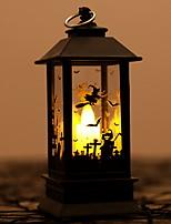 Недорогие -1шт LED Night Light Тёплый белый Аккумуляторы AA Творчество Батарея