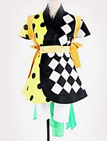 Недорогие -Вдохновлен Косплей Косплей Аниме Косплэй костюмы Косплей Костюмы Геометрический рисунок Блузка / Юбки / Пояс Назначение Муж. / Жен.