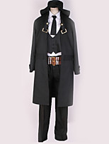 Недорогие -Вдохновлен Косплей Косплей Аниме Косплэй костюмы Косплей Костюмы Простой / Английский Пальто / Жилетка / Блузка Назначение Муж. / Жен.