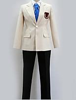 Недорогие -Вдохновлен Возрождение! Косплей Аниме Косплэй костюмы Школьная форма Современный стиль Пальто / Блузка / Кофты Назначение Муж. / Жен.