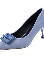 Недорогие -Жен. Полиуретан Весна На каждый день Обувь на каблуках На шпильке Черный / Синий / Хаки