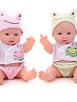 Недорогие -Куклы реборн Говорящая игрушка Мальчики 12 дюймовый Smart как живой Дети / подростки Детские Универсальные Игрушки Подарок