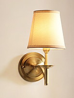 Недорогие -Творчество Простой / Современный современный Настенные светильники В помещении Металл настенный светильник 220-240Вольт 1 W