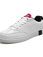 Недорогие -Муж. Комфортная обувь Полиуретан Весна На каждый день Кеды Нескользкий Контрастных цветов Красный / Черно-белый / Wit En Groen