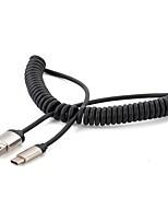Недорогие -YONGWEI USB2.0 A Кабель, USB2.0 A к USB 2.0 Тип C Кабель Male - Male Лужёная медь 1.5M (5Ft)