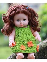 Недорогие -KIDDING Куклы реборн Кукла для девочек Девочки 24 дюймовый Полный силикон для тела Силикон Винил - как живой Ручная Pабота Очаровательный Дети / подростки Детские Универсальные Игрушки Подарок