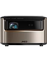 Недорогие -JmGO V9 DLP Проектор для домашних кинотеатров Светодиодная лампа Проектор 1500 lm Поддержка 2K 40-300 дюймовый Экран
