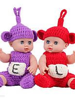Недорогие -KIDDING Куклы реборн Мальчики Девочки 12 дюймовый Полный силикон для тела Силикон Винил - как живой Ручная Pабота Очаровательный Дети / подростки Детские Универсальные Игрушки Подарок