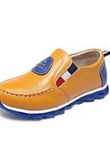 Недорогие -Мальчики Обувь Кожа Весна & осень Удобная обувь Мокасины и Свитер для Для подростков Оранжевый / Синий