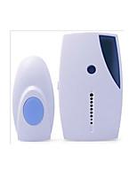 Недорогие -новый беспроводной дверной звонок один на один дин дон не визуальный простой белый дверной звонок наружный и внутренний блок
