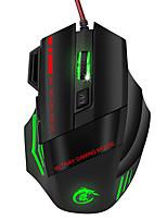 Недорогие -OEM Проводной USB Gaming Mouse / Управление мышью A907 7 pcs ключи LED подсветка 7 программируемых клавиш 5500 dpi