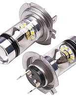 Недорогие -OTOLAMPARA 2pcs H16 / H7 / H4 Автомобиль Лампы 100 W SMD 3030 2000 lm 20 Светодиодная лампа Противотуманные фары Назначение Nissan / Honda Altima / Civic / Accord 2019