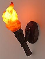 Недорогие -Творчество Ретро Настенные светильники Игровая / кафе Смола настенный светильник 220-240Вольт 30 W