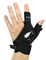 baratos -Meio dedo Unisexo Motos luvas Algodão Anti-desgaste / Antiderrapante