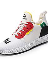 Недорогие -Муж. Комфортная обувь Tissage Volant Весна Спортивные / На каждый день Кеды Нескользкий Контрастных цветов Белый / Черный / Желтый