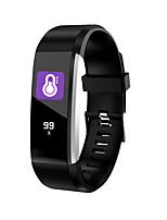 Недорогие -Indear 115PRO Умный браслет Android iOS Bluetooth Smart Спорт Водонепроницаемый Пульсомер Педометр Напоминание о звонке Датчик для отслеживания сна Сидячий Напоминание будильник / Сенсорный экран