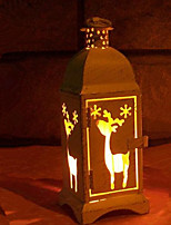 Недорогие -Праздничные украшения Новый год / Рождественский декор Праздничные огни / Рождественские украшения Декоративная Белый 1шт