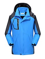 cheap -Men's Hiking Jacket Winter Outdoor Thermal Warm Waterproof Windproof Breathable Jacket Hunting Climbing Camping / Hiking / Caving Black / Red / Army Green / Blue / Green