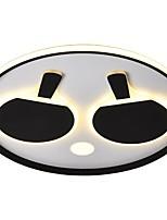 Недорогие -QIHengZhaoMing Потолочные светильники Рассеянное освещение Электропокрытие Акрил 110-120Вольт / 220-240Вольт Теплый белый / Белый