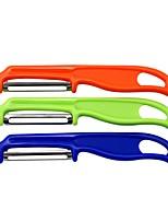 Недорогие -1 комплект Кухонная утварь Инструменты Нержавеющая сталь + пластик Экологичные Эргономический дизайн Многофункциональные Режущие инструменты Столовая и кухня Овощные ножи