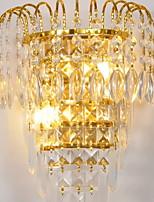 Недорогие -Творчество Современный современный Настенные светильники Спальня Хрусталь настенный светильник 220-240Вольт 3 W