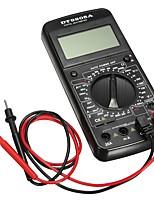 Недорогие -dt-9205a цифровой ac dc жк профессиональный электрический тестер мультиметр