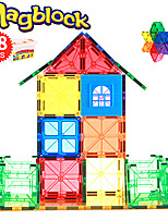 Недорогие -Магнитный конструктор Магнитные плитки 48 pcs Геометрический узор Все Мальчики Девочки Игрушки Подарок