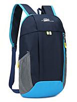 Недорогие -10 L Рюкзаки - Легкость Пригодно для носки На открытом воздухе Пешеходный туризм Восхождение Походы Нейлон Красный Зеленый Темно-синий