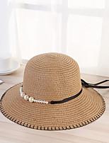 Недорогие -Жен. Винтаж / Классический Шляпа от солнца С принтом