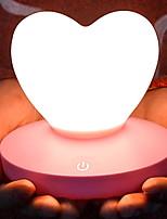 Недорогие -1шт LED Night Light Тёплый белый USB Для детей / Творчество 5 V