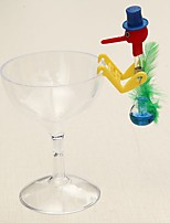 Недорогие -новинка пьяная птичка с пластиковым стеклом