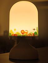 Недорогие -1шт LED Night Light Тёплый белый Аккумуляторы AA / USB Творчество <=36 V