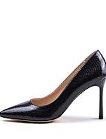 Недорогие -Жен. Синтетика Весна лето Обувь на каблуках На шпильке Заостренный носок Черный