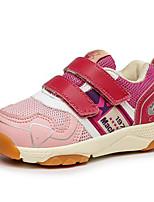 Недорогие -Девочки Обувь Эластичная ткань Весна & осень Удобная обувь Спортивная обувь Для прогулок для Дети / Для подростков Белый / Розовый / Светло-синий