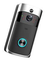 Недорогие -Factory OEM Беспроводное Встроенный из спикера Нет экрана (выход на APP) Гарнитура 1280*720 пиксель Один к одному видео домофона