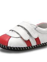 Недорогие -Девочки Обувь Кожа Весна Удобная обувь / Обувь для малышей На плокой подошве для Дети Красный / Зеленый