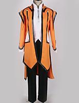 Недорогие -Вдохновлен Косплей Косплей Аниме Косплэй костюмы Косплей Костюмы Однотонный Пальто / Кофты / Брюки Назначение Муж. / Жен.