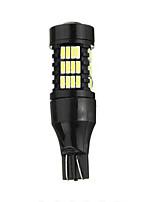 Недорогие -1 шт. T15 Автомобиль Лампы 21 W SMD 4014 850 lm 54 Светодиодная лампа Противотуманные фары / Лампа поворотного сигнала / Боковые габаритные огни Назначение Все года