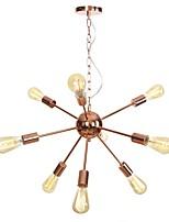 Недорогие -9-Light Спутник Люстры и лампы Рассеянное освещение Электропокрытие Металл Творчество, Новый дизайн 110-120Вольт / 220-240Вольт