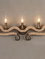 Недорогие -Cool Современный современный Настенные светильники Сад Металл настенный светильник 220-240Вольт