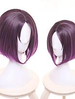 Недорогие -Косплей Косплей Все 14 дюймовый Термостойкое волокно Лиловый Аниме Косплэй парики