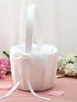 Недорогие -Цветочные корзины Прочее 22 см Атласный бант 1 pcs